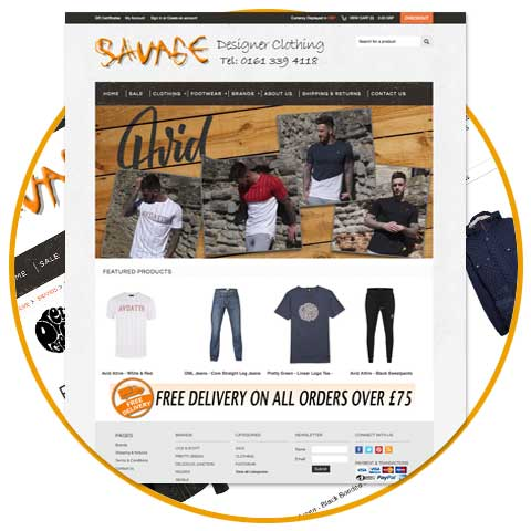 Savage Designer Clothing